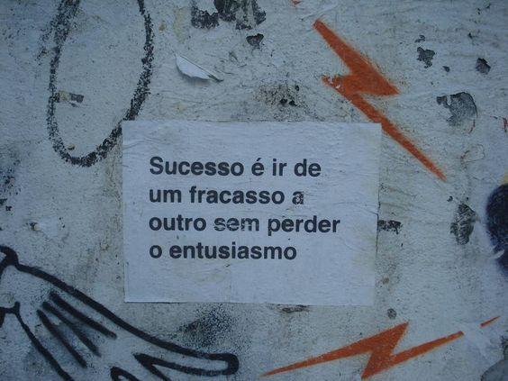 sucesso é...