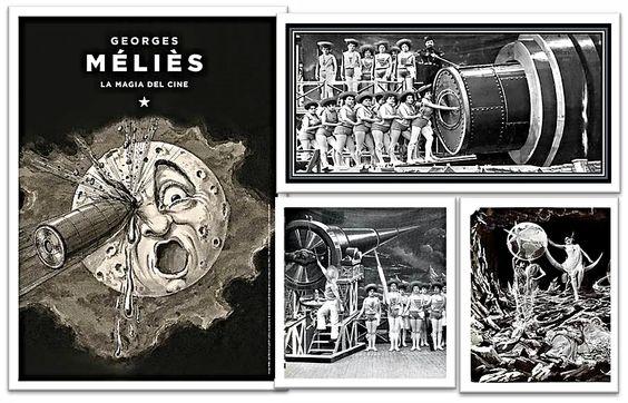 """George Melies, la magia del cine. Para trabajar con el film """"Hugo"""" en las escuelas."""