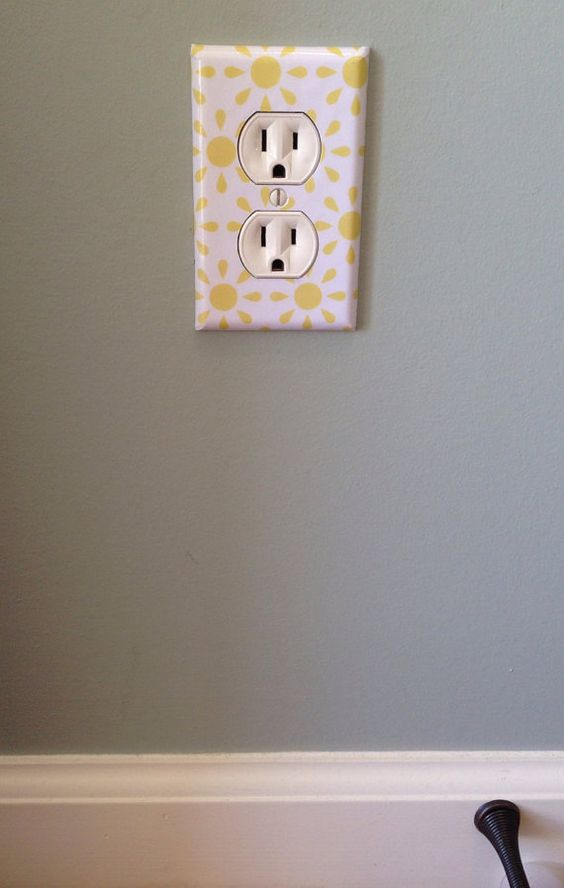 What do you find in every home that's exactly the same? Light switch and…
