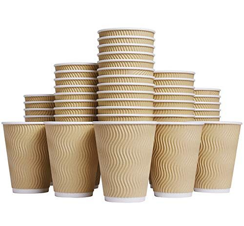 Disposable Corrugated Paper Coffee Cups Sleeve