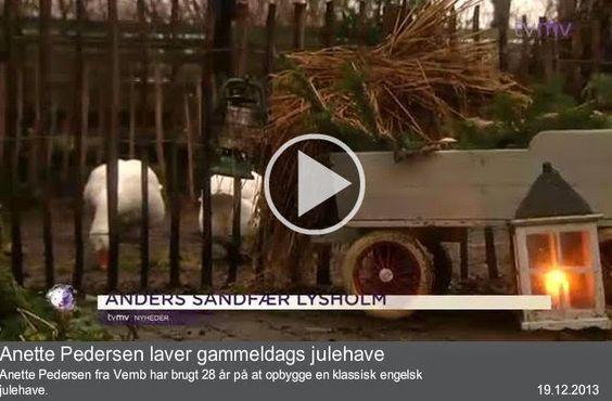 Fru Pedersens julehave