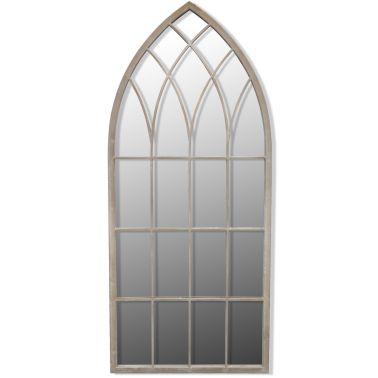 Gotische boogvormige tuinspiegel 115 x 50 cm[2/3]
