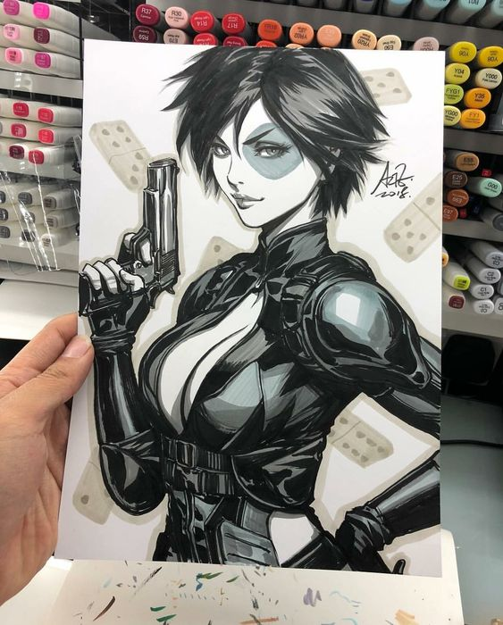 Domino drawing