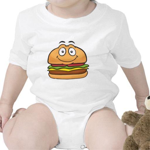 Hamburger Emoji Romper
