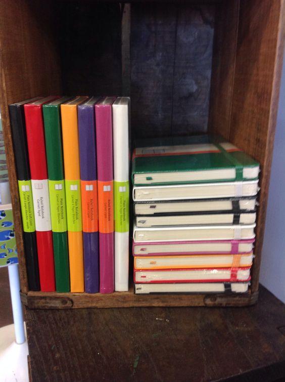 Moleskine notebooks: