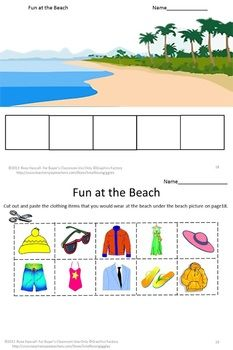 weather unit what should i wear today kindergarten cut paste coloring cases and fine motor. Black Bedroom Furniture Sets. Home Design Ideas