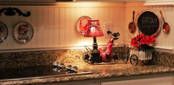 beadboard kitchen backsplash ideas | DIY beadboard back splash, Country Kitchen, Kitchens Design