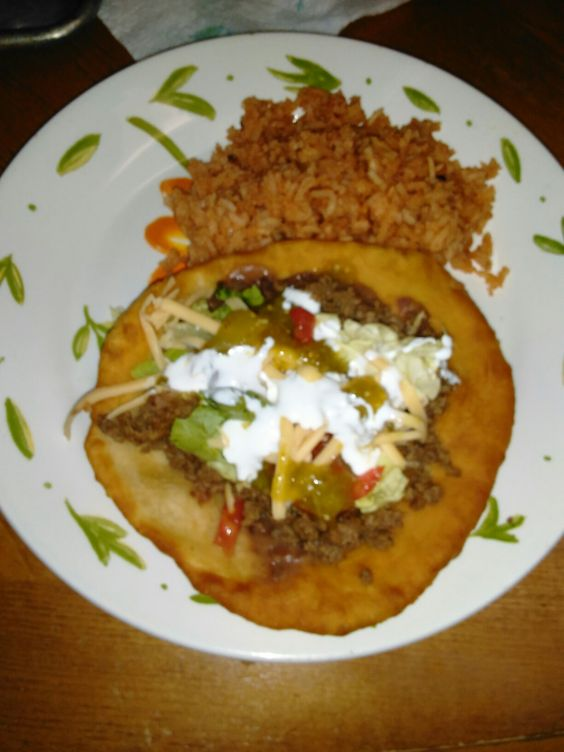 Indian Tacos for tonight's dinner!