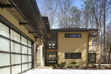 The Frank Lloyd Wright Inspired Modern Prairie Style Home