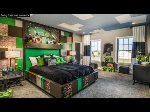 13 Minecraft Bedroom Ideas In Real Life Youtube Minecraft