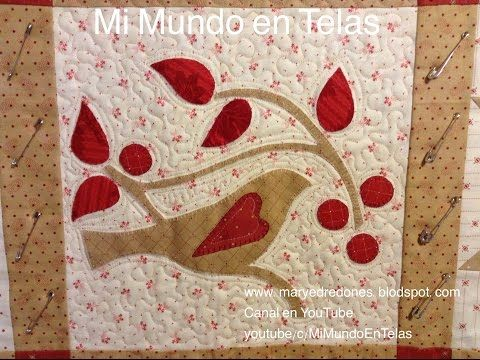 Quilting Parte 2-1 - YouTube