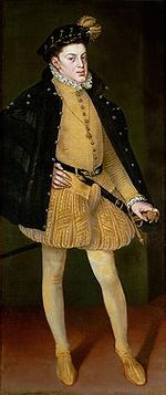 Carlos, Prince of Asturias, also known as Don Carlos (8 July 1545 – 24 July 1568), was the eldest son and heir The young Infante Carlos was delicate and deformed. As a young adult, began to show signs of mental instability. Many of his physical and psychological afflictions may have stemmed from the inbreeding. Carlos was mentally unstable and was imprisoned by his father in early 1568, dying after half a year of solitary confinement.In 1562.