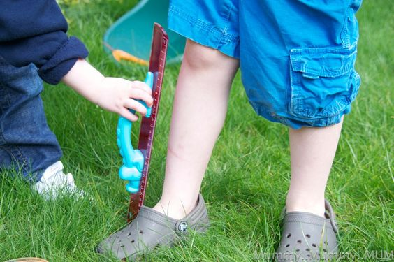 investigating length, science for kids, learning with kids