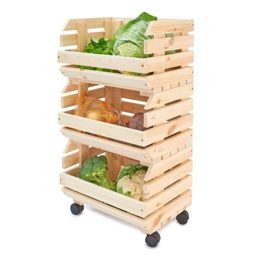 Warzywniak Drewniany Skrzynki Na Owoce Warzywa 6900432777 Oficjalne Archiwum Allegro Vegetable Rack Home Decor Wood Design