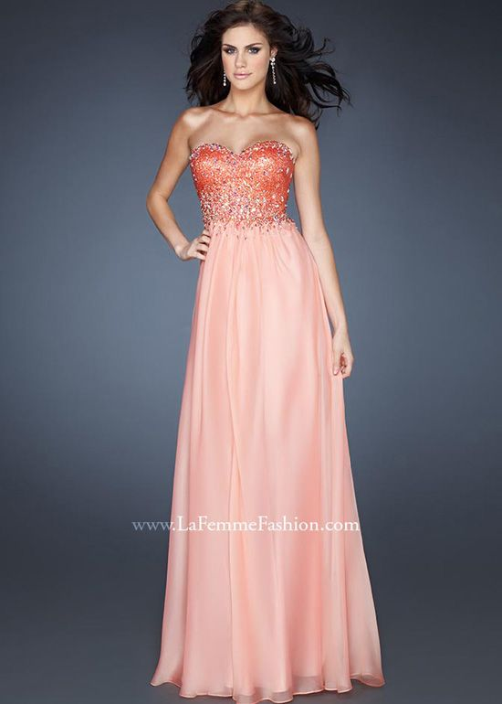 New for 2013! The bright orange will allow you to stand out from the crowd ...LaFemme 18767