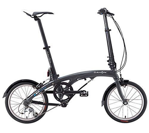 Eezz D3 Gunmetal Blue Folding Bicycle Bike Bicycle