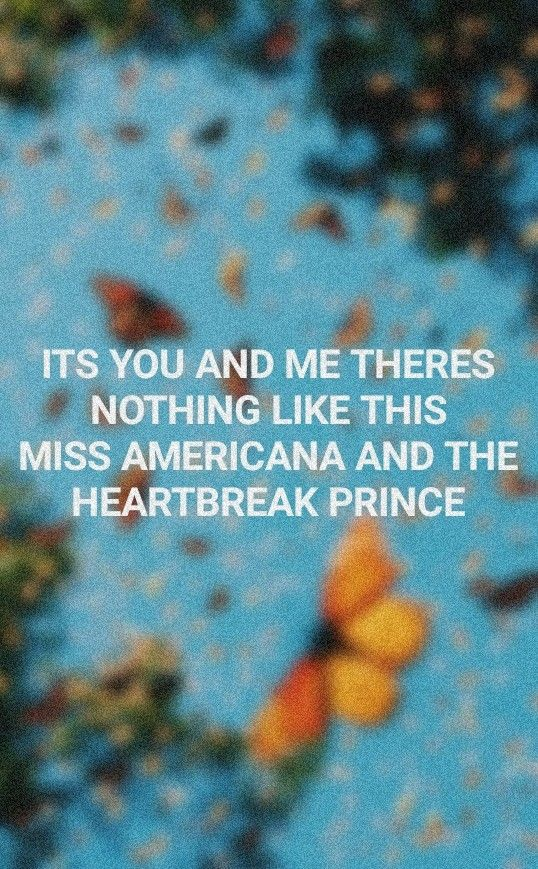 taylor swift miss americana and the heartbreak prince