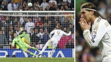 Sergio Ramos y el inolvidable penal que falló ante Bayern. April 11, 2014