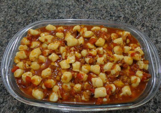 Receita de Nhoque perfeito com molho de bacon - Tudo Gostoso  http://tudogostoso.me/r121373
