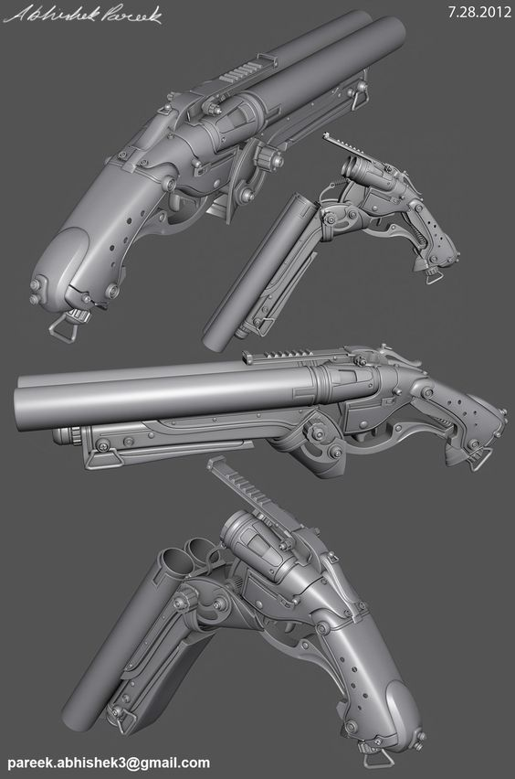 Shotguns, Art colleges and 3ds max on Pinterest