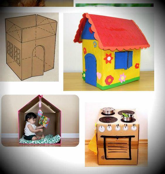 Casa VEJA OUTRA = LINK http://ricmais.com.br/sc/ambiente/videos/professores-constroem-casinha-com-caixas-de-leite-em-itajai/