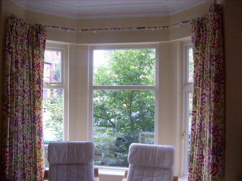 These Bay Window Treatment Ideas Just Above Shows A Pair