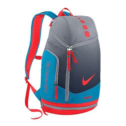 white nike elite backpack