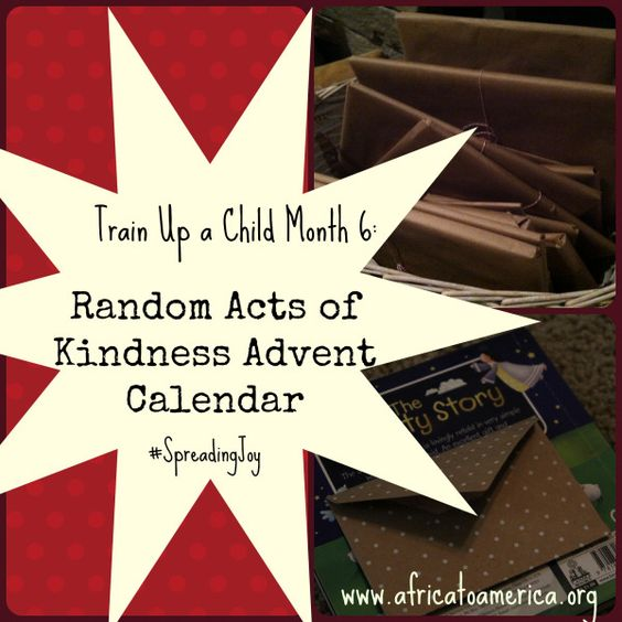 40th Birthday Random Acts Of Kindness: Advent, Advent Calendar And Acts Of Kindness On Pinterest