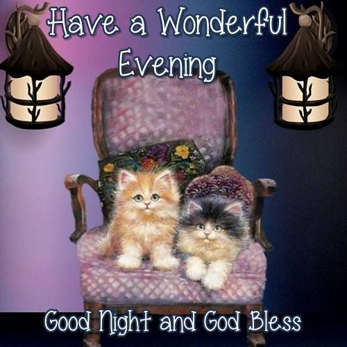 Good Night Everyone, God Bless You!!:
