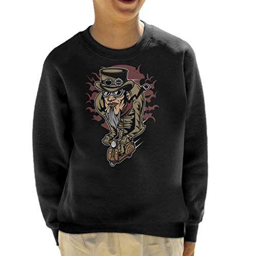 Coto7 Steampunk Scooterman Kids T-Shirt