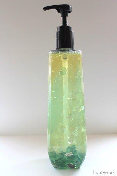 DIY Mysterious Ocean Liquid Soap | Homework