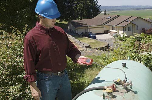 Propane and Natural Gas Leak Detector