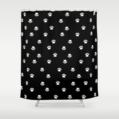 Doggy Paws Shower Curtain by McGrathDesigns - $68.00