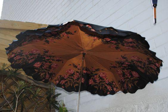 Wonderful double umbrella 1950