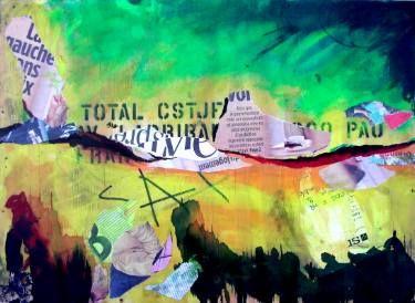 """Saatchi Art Artist Christian Gastaldi; Painting, """"Landscape 2: Pau au fond  à  droite"""" #art"""