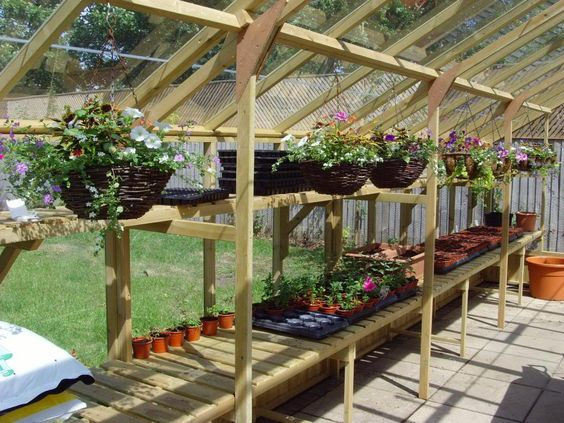Plans additionally Inside Greenhouse Roof as well DIY Pull Out Shelves ...