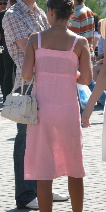 Vtl visable thong in the town centre - 2 part 5