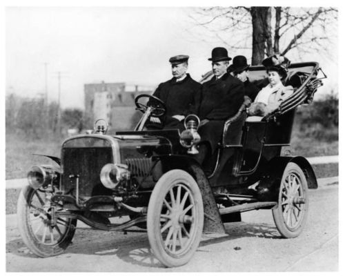 1904 Ford Model B Henry Ford Original Photo Negative Nad3780