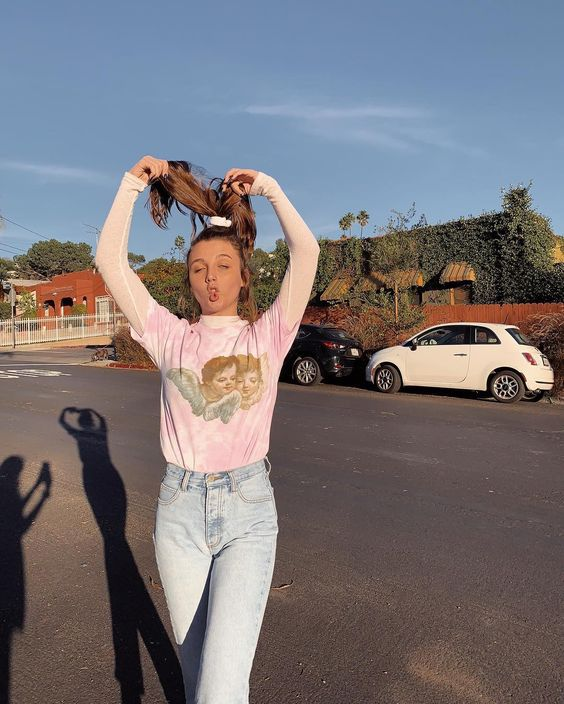 """☆ emma chamberlain ☆ on Instagram: """"accidentally wore this outfit 3 days in a row"""""""