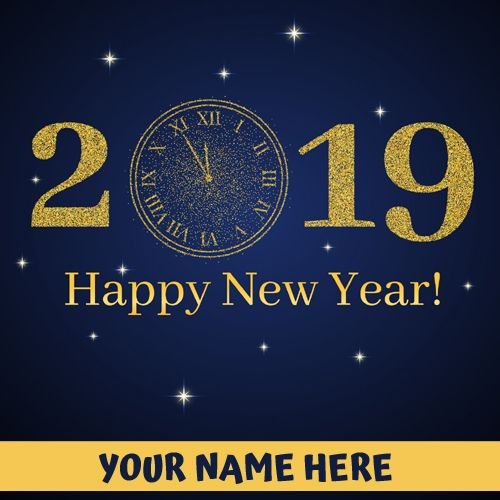 New Year 2019 Welcome Countdown Greeting With Name Happy New Year Wishes Designer St New Year Wishes Quotes Happy Independence Day Wishes Happy New Year Wishes
