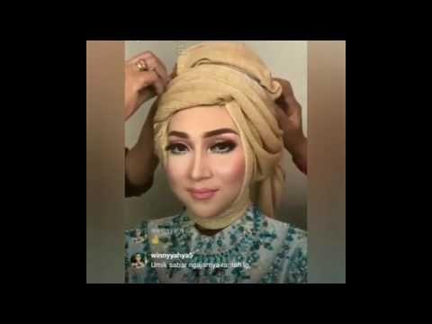 Tutorial Hijab Princess Cinderella By Visa Make Up Upload Ulang Youtube Hijab Tutorial Princess Cinderella Hair Styles