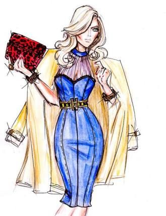 How to draw fashion design sketches easier5 fashion for How to make a blueprint online