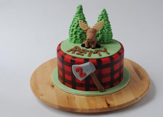 Canadiana Moose Cake by Cakes by Caralin