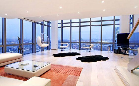 In the inside of Eden Hazard's $5 million penthouse in London!