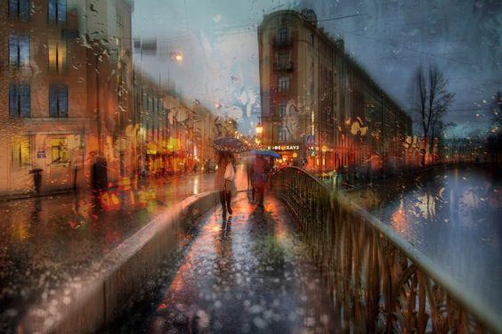 autumn rain in St. Petersburg.. by Ed Gordeev on 500px: