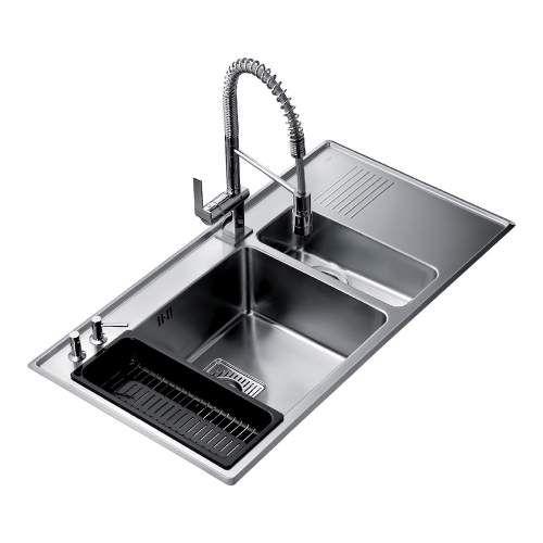 Teka Frame 1 5b 1 2d Stainless Steel Kitchen Sink Stainless