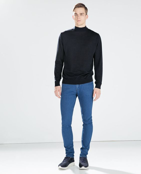 ZARA - MAN - SLIM 5-POCKET TROUSERS