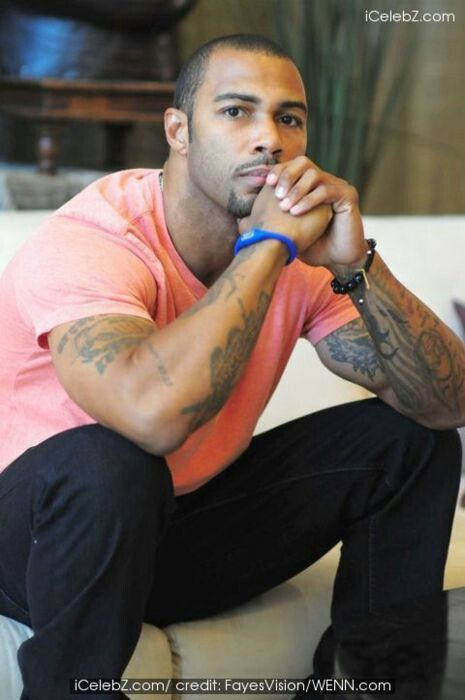 Omari Hardwick - man, he is one beautiful brother.