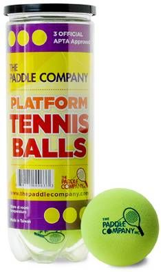 The Paddle Company | Official Platform Tennis Ball, APTA approved