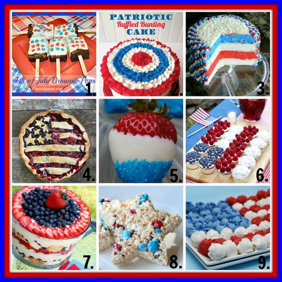 Desserts Fourth Of July And 4th Of July Desserts On Pinterest